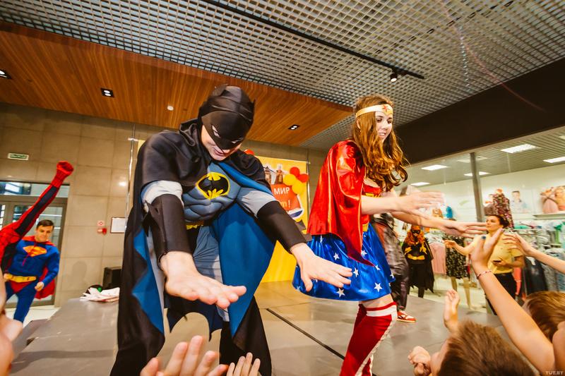 Школа супергероев картинки